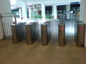 Full Flap Barrier Pedestrian Gate | Elid Technology International Pte. Ltd | Elid Technology DSC00467