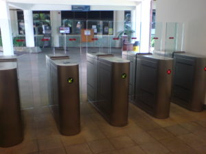 Full Flap Barrier Pedestrian Gate | Elid Technology International Pte. Ltd | Elid Technology DSC00471