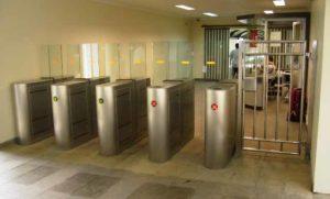 Full Flap Barrier Pedestrian Gate | Elid Technology International Pte. Ltd | Elid Technology P4130001 edited