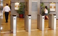 Flap Barrier Pedestrian Gate   Elid Technology International Pte. Ltd   Elid Technology flap pedestrian barrier gate 01