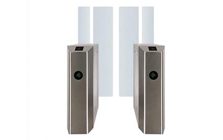 Pedestrian Gate   Elid Technology International Pte. Ltd   Elid Technology full height flap barrier 1