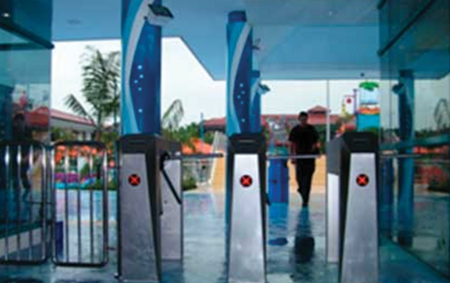 Pedestrian Gate   Elid Technology International Pte. Ltd   Elid Technology elid pedestrian gate 01